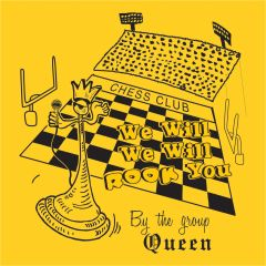 We Will Rook You - by the Group Queen, Chess Shirt