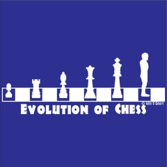 Evolution Chess Man, Chess Men t-shirt