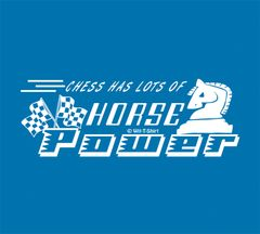 Chess Has Lots of Horse Power in White