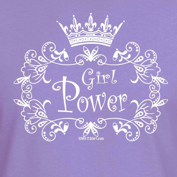 Pretty Girl Power, Girls Chess Shirt