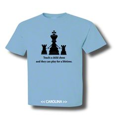 Teach a Child chess Dad Coach shirt