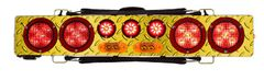 """Towmate 36″ Wireless Truck Bar with Amber Strobes & Diamond Plate Finish #TM36S2D (Plus """"Have you forgotten decal..."""" 14"""" x 6"""" $10.95 value)"""