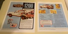 1984 Ernest Holmes 1200 Wrecker Brochure 2 Page
