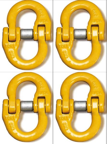 """(4) BA Products G8-103-516 1/4-5/16"""" Yoke Alloy Connector Link Coupling Link Hammer Lock"""