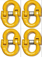 """(4) BA Products G8-103-38 - 3/8"""" Yoke Alloy Connector Link Coupling Link Hammer Lock"""