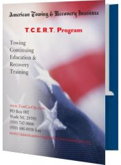 New Home Study Towing Continuing Education & Recovery Training (T.C.E.R.T.) Program 6 Workbooks and 6 Exams (Add-on)