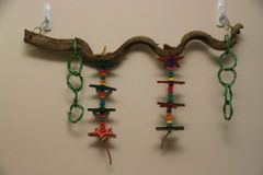 Wacky Wood Toy Perch - 24""