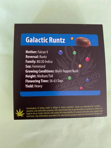 Galactic runtz