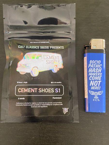 Cement shoes S1