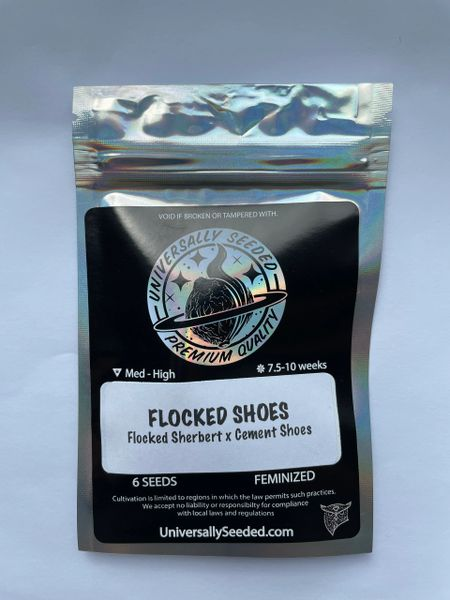 Flocked Shoes