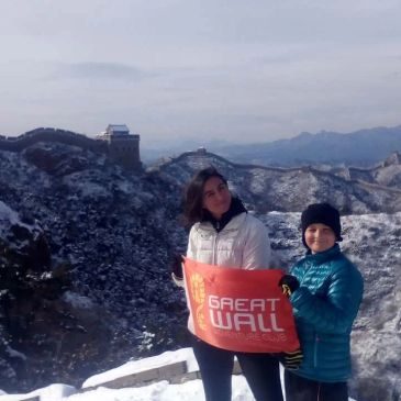 Walk the Great Wall in winter
