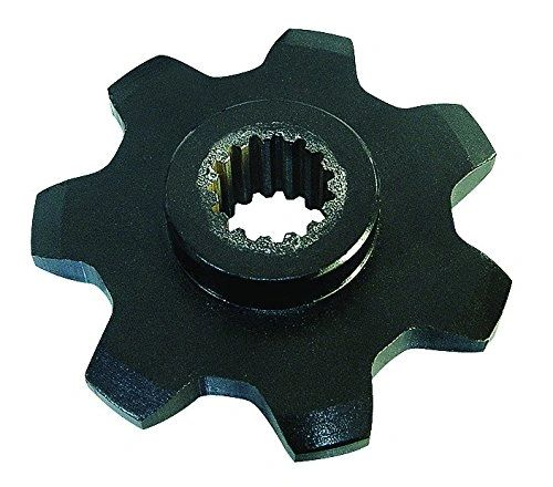 GFI86837081 Sprocket 7T Upper drive for gathering chain. Replaces OEM# 86837081.