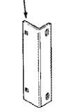 GFI199526C1 Bracket Upper rear fender mount.