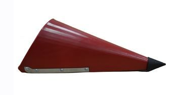 """GFI-P3S20-90A Poly III 20"""" Center Snout Assembly, IH Red"""