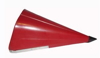 """GFI-PS30-90A Snout Narrow Row Center with Point. 30"""""""
