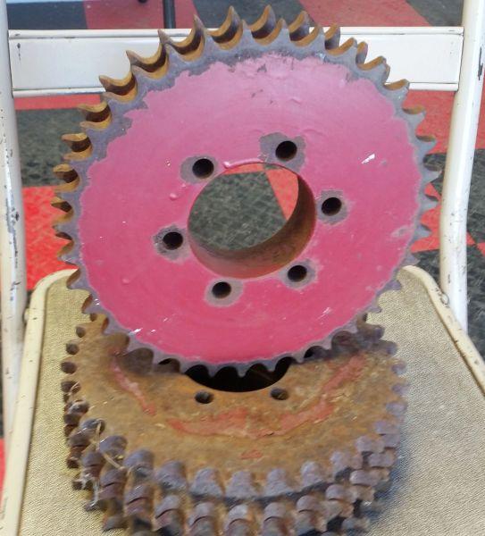 GFI1306892C1 Sprocket 35T-60-2 Main Drive Sprocket. Standard Speed. Replaces OEM#1306892C1.