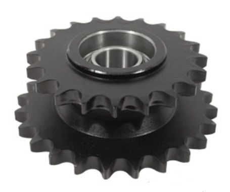 GFI87283922 Sprocket Assembly; Corn Head Auger Drive