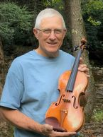 David Chandler of Burnsville North Carolina makes Violins and Fiddles.