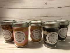 Cupcake in a Jar Christmas Pack (1/2 dozen)
