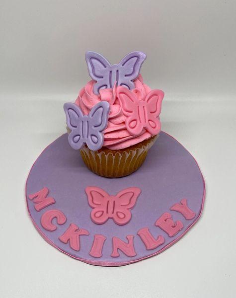 Butterfly Jumbo Cupcake Smash Cake