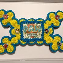 Paw Patrol Cupcake Cake