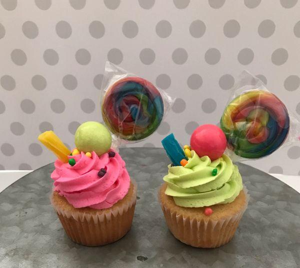 Candy Themed Cupcakes (1 dozen)