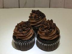 Death by Chocolate Cupcakes (1 dozen)