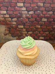 Rainbow Sherbert Cupcakes