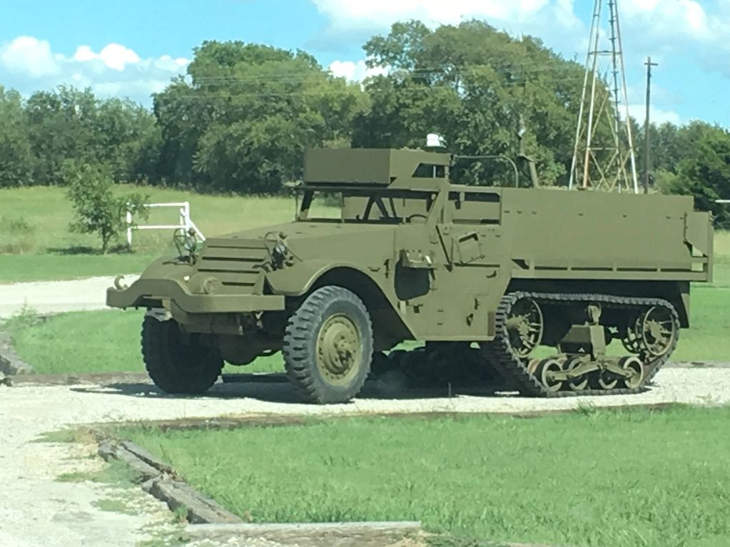 Picture of the M9A1 Halftrack