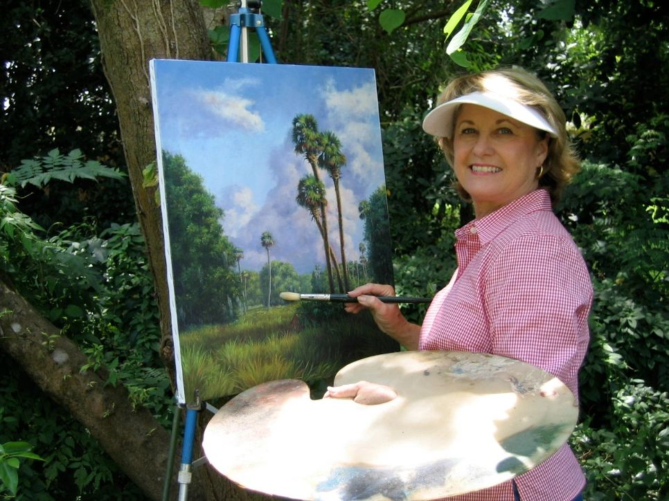 There is nothing better than painting en plein air. Working on site breaths life into my paintings.