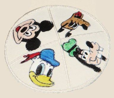 Hand Painted Suede Kippot For Babies Assorted Designs