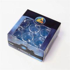 Glasses For Oil Menorah Pack Of 9 Round