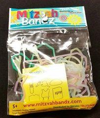 Jewish Symbols Neon Color - Mitzvah Bandz