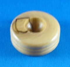 Dreidel Stand Round Wood 1-1/2 Inches Diameter