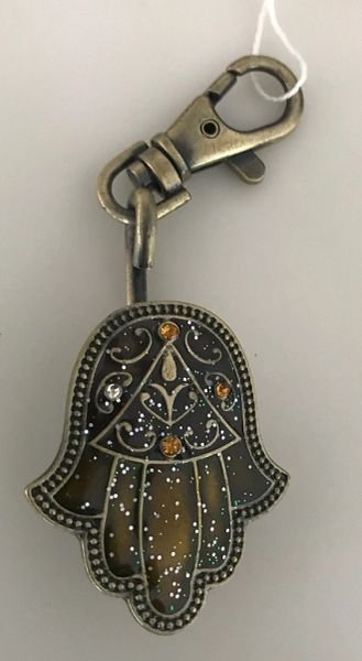 Key Chain Purse Holder Chamsah Brass