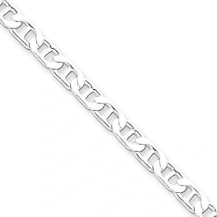 "Sterling Silver Chain Anchor 22"" Long"