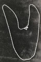 "Sterling Silver Chain Plus One 18"" Long"