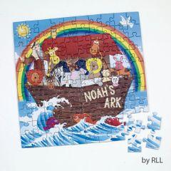 100 Piece Noah's Ark Jigsaw Puzzle