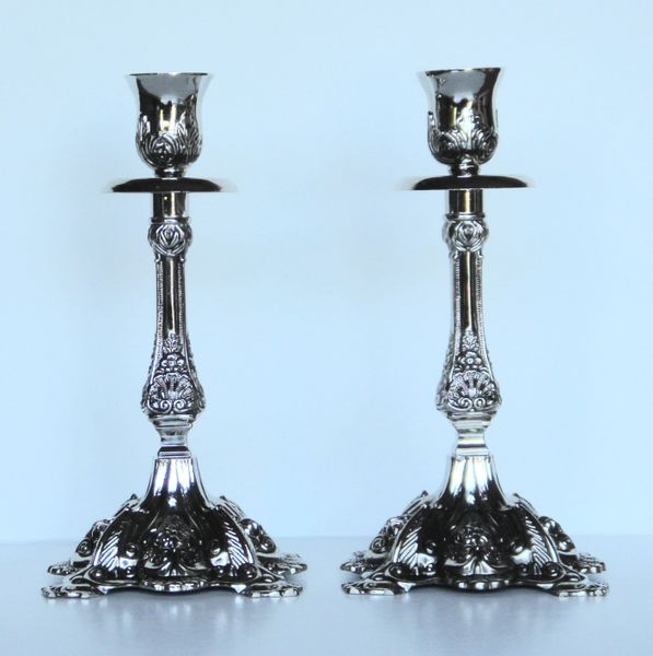 Candlesticks Nickel Plated