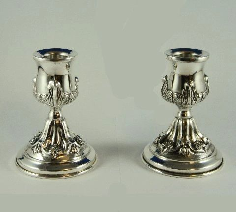Candleholder Set Traveling Petruah by CJ Art