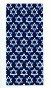"Star of David Bag 5""x3-1/2""x10-3/4"" Can be Used as Gift Bags, Favor Bags, and More."