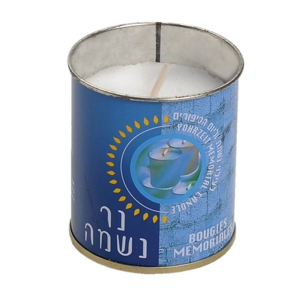 Memorial Candles in a Tin