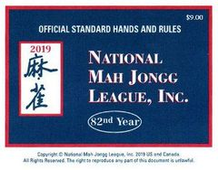 National Mah Jongg Cards 2019