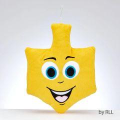 Dreidel Emoji Embroidered Plush