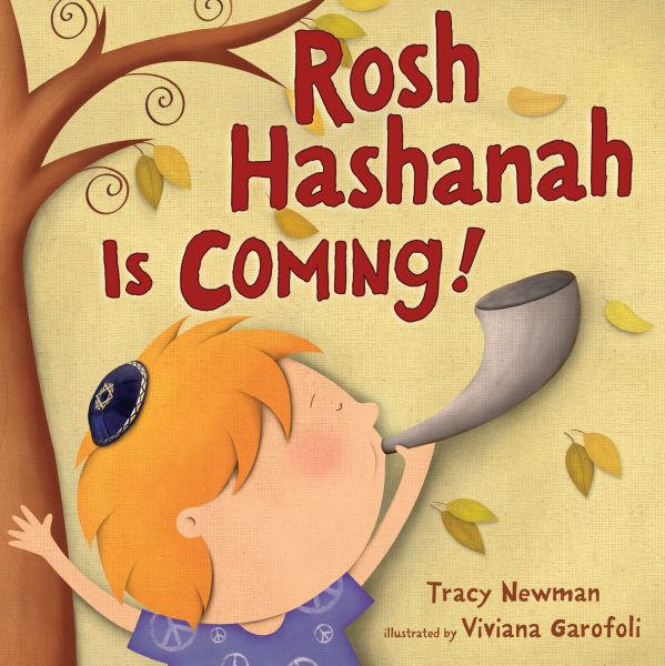 Rosh Hashanah is Coming! (Board Book)