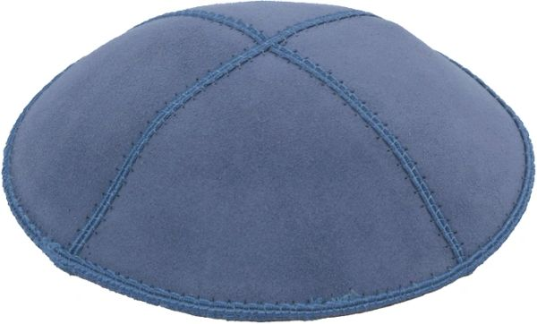 Kippah Suede Colors Assorted - Suitable for Bar/Bat Mitzvah and Weddings