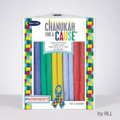 Chanukah For A Cause TM, Candles For Autism