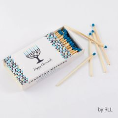Chanukah Matches, 50 Long Matches in Rect. Gift Box