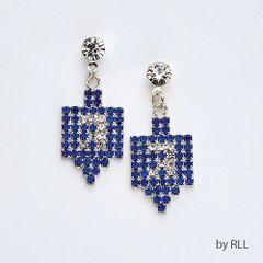 Dreidel Chanukah Earrings
