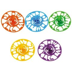 """Colorful Plastic Dreidel--3.5"""""""
